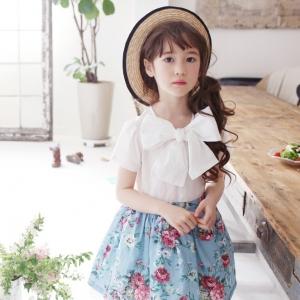 ชุดเดรสเด็กหญิง แฟชั่นเดรสเด็กสไตล์เกาหลี Phelfish