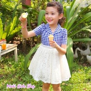 เดรสเด็กหญิงสไตล์เกาหลี New PinkIdeal