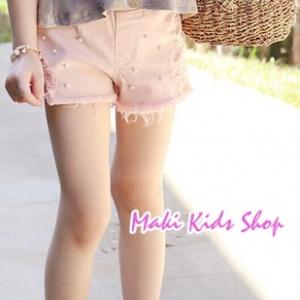 กางเกงขาสั้น สีชมพู New PinkIdeal