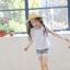 กางเกงเลกกิ้งขาสั้นเด็กผู้หญิง PinkIdeal thumbnail 4