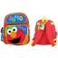 z Backpack Sesame Street Elmo Toddler 12 Inches Medium sized เซซามี่ สตีท กระเป๋าเป้ กระเป๋าสะพายน่ารัก ของแท้ นำเข้าจากอเมริกา thumbnail 2