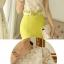 พรีออเดอร์ เสื้อผ้าลูกไม้สีครีมทอง ผสมผ้าชีฟองด้านหลัง คอกลมแต่งคอด้วยดอกไม้ปักมุก แขนสั้น เอวหลวม thumbnail 7