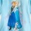 z Anna and Elsa Long Sleeve Tee for Girls - Frozen ของแท้ นำเข้าจากอเมริกา (Size:4) thumbnail 2