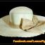 หมวกสาน คุณนายปีกรอบกว้างมาก สีขาวครีม โบว์โทนน้ำตาลทอง สวยหวานมากๆ thumbnail 1