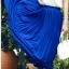 Pre-Order กระโปรงพลีท ผ้าชีฟอง ปี 2014 สไตล์โบฮีเมียน ราคาเบา ๆ น่าเป็นเจ้าของที่สุด สีน้ำเงิน thumbnail 1