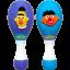zSesame Street Playskool Shakin Maracas Toy เครื่องเขย่าประกอบดนตรี มาราคัส ของแท้ นำเข้าจากอเมริกา thumbnail 2