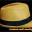 หมวกสาน ทรงไมเคิล สีน้ำตาลอ่อนขอบเรียบ แถบดำ ฮิตๆ !!! thumbnail 3