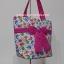 กระเป๋าสะพาย นารายา ผ้าคอตตอน พื้นสีขาว ลายช้าง ผูกโบว์ (กระเป๋านารายา กระเป๋าผ้า NaRaYa กระเป๋าแฟชั่น) thumbnail 1