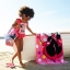 zMinnie Mouse Deluxe Striped Swimsuit for Girls (Size3) thumbnail 2