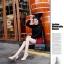 พรีออเดอร์ รองเท้าแฟชั่นผู้หญิง ส้นสูง หัวแหลม หนังแท้ สีเหลือง Brand: Xuan Hong Mi เสื้อผ้าแฟชั่นสไตล์เรโทร thumbnail 3
