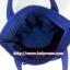 กระเป๋าสะพาย นารายา ผ้าคอตตอน สีน้ำเงิน ลายหยดน้ำ ผูกโบว์ (กระเป๋านารายา กระเป๋าผ้า NaRaYa กระเป๋าแฟชั่น) thumbnail 6