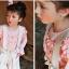 เสื้อผ้าเด็ก PinkIdeal เสื้อสีขมพูแขนยาวจั๊มปลายแขน thumbnail 4