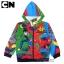 """"""" เสื้อแจ็คเก็ต Ben10 เสื้อกันหนาว เด็กผู้ชาย รูดซิป มีหมวก(ฮู้ด) ใส่คลุมกันหนาว กันแดด สุดเท่ห์ ใส่สบาย ลิขสิทธิ์แท้ (ไซส์ 4-6-8 ) thumbnail 1"""
