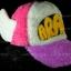 หมวก ARALE อาราเล่ รุ่นขนปุย สีชมพู ม่วง ขาว 3 โทน thumbnail 1