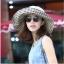 Pre-order หมวกแฟชั่น หมวกใบกว้าง หมวกฤดูร้อน กันแดด ผ้าลินิน สีเขียว thumbnail 2