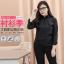 (Pre-order) เสื้อเชิ้ตดำ เสื้อเชิ้ตแขนยาวสีดำผู้หญิง ไซส์ใหญ่ thumbnail 5
