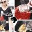 Seoul Secret Say's .... Olivia Squin Dress Material : มินิเดรสผ้ายืด น่ารักๆ ด้วยงานเย็บแต่งด้วยลายโอลีฟ เติมความสวยด้วยงานแต่งวิ้งสีแดงที่ตัวลาย ใส่ชิลล์ในวันสบายๆ เหมาะมากคะ เติมด้วยรองเท้าเก๋ๆ ซักคู่ก็ดูดีชิคมากคะ thumbnail 2