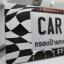 กรอบป้ายทะเบียนรถยนต์ (มีอะคริลิคใสปิดตรงกลาง) แบบยาว 18.5 นิ้ว ลาย RACING thumbnail 5