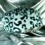 หมวกขนสัตว์นุ่ม ลายเสือโทนเทาดำ ทรงหัวตัด มีโซ่ด้านหน้า thumbnail 5