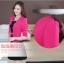 ชุดเดรสกระโปรงบานสีดำ+เสื้อสูท สีชมพูบานเย็น (ขายแยกชิ้น) thumbnail 8