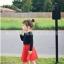 กระโปรงเด็กสีแดง PinkIeal thumbnail 5