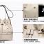Pre-order กระเป๋าสะพายผู้หญิง Jinfenshijia กระเป๋าสไตล์ยุโรปอเมริกัน หนัง PU สีชมพู thumbnail 4