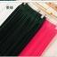Pre-Order กระโปรงพลีท ผ้าชีฟอง สไตล์โบฮีเมียน ความยาว 50 - 96 cm.สีดำและสีบานเย็น thumbnail 1