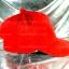 หมวก Bear หูหมี ขนสัตว์นุ่มๆ สีแดง !!! thumbnail 3