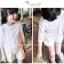 เสื้อเด็กหญิงสีขชมพู ชายลูกไม้ thumbnail 4