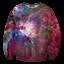 เสื้อยืดพิมพ์ลาย MR.GUGU & Miss GO : Pink nebula sweater thumbnail 1