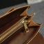 Pre-Order กระเป๋าสะพายผู้หญิง กระเป๋าเอกสาร หนังเทียม PU และสายสะพายยาวถอดออกได้ ติดซิปด้านบน สีน้ำตาล thumbnail 16