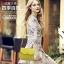 Pre-order กระเป๋าสะพายผู้หญิง หนังแท้ สไตล์ยุโรป-อเมริกา แฟชั่นมาใหม่ปี 2016 มี 4 สี เหลือง ขาว ดำ น้ำเงิน thumbnail 23