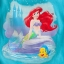 z Ariel and Flounder Tee for Girls (12-18month) thumbnail 2