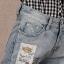 Pre-Order กางเกงยีนส์ฟอก สไตล์เรโทร ยีนส์ขาด เอวสูง ขายาว ปักหมุด ปะประดับผ้าลาย เนื้อผ้านิ่ม ไซส์ใหญ่ thumbnail 13