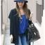 Pre-order หมวกผ้าขนสัตว์อินเดียน่าโจนหมวกเท่ ๆ หมวกแฟชั่นสไตล์วินเทจ กันแดด กันแสงยูวี สีน้ำเงิน thumbnail 1