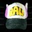 หมวก ARALE อาราเล่ รุ่นขนปุย สีม่วง ขาว ดำ 3 โทน thumbnail 2