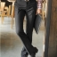 (Pre-Order) กางเกงทำงานผู้ชาย กางเกงขายาว กางเกงธุรกิจ ผ้าโพลีเอสเตอร์ สีดำ แฟชั่นกางเกงทำงานใหม่ แบบเรียบ ไม่จับจีบ thumbnail 3