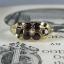 Pre-Order แหวนทองพลอยโกเมน แหวนทองสไตล์วินเทจ โบฮีเมียน แหวนทองสไตล์ของเก่าประมาณปี 1950s thumbnail 1