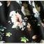 Pre-order กระโปรงพลีท จีบใหญ่ ผ้าขีฟองพิมพ์ลาย Narcissus แฟชั่นเรโทรย้อนยุค กระโปรงยาว thumbnail 8