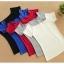 (Pre-Order) เสื้อยืดลำลองคอกว้าง เสื้อยืดผ้าฝ้าย modal สีเทา thumbnail 8