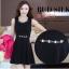 ชุดเดรสกระโปรงบานสีดำ+เสื้อสูท สีชมพูบานเย็น (ขายแยกชิ้น) thumbnail 12