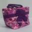 กระเป๋าถือ นารายา Size S ผ้าคอตตอน สีชมพู ลายดอกไม้ ผูกโบว์ สีม่วง สายหิ้ว หูเกลียว (กระเป๋านารายา กระเป๋าผ้า NaRaYa กระเป๋าแฟชั่น) thumbnail 1