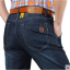 Pre-order กางเกงยีนส์ขายาว แฟชั่นสไตล์อเมริกันคลาสสิก หนุ่มมาดเท่ สีบลูยีนส์ NIAN Jeep thumbnail 1