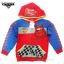 ( Size S-M-L ) Jacket Disney Cars เสื้อแจ็คเก็ต เสื้อกันหนาว เด็กผู้ชาย สกรีนลาย คาร์ สีแดง รูดซิป มีหมวก(ฮู้ด)สีแดง ใส่คลุมกันหนาว กันแดด ใส่สบาย ดิสนีย์แท้ ลิขสิทธิ์แท้ thumbnail 5