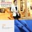Pre-Order เสื้อสูททำงานแขนยาว เสื้อสูทผู้หญิง สูทลำลอง สีขาว แฟชั่นชุดทำงานสไตล์เกาหลี thumbnail 3