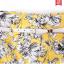 Pre-Order กระโปรงทรงเอไลน์ กระโปรงบาน ผ้าโพลีเอสเตอร์พิมพ์ลายดอกไม้ สีเหลือง thumbnail 6