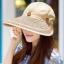 Pre-order หมวกแฟชั่น หมวกแก็ปปีกกว้าง หมวกฤดูร้อน กันแดด กันแสงยูวี สีกาแฟ thumbnail 1