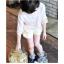 เสื้อเด็กหญิงสีขชมพู ชายลูกไม้ thumbnail 2