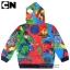""""""" เสื้อแจ็คเก็ต Ben10 เสื้อกันหนาว เด็กผู้ชาย รูดซิป มีหมวก(ฮู้ด) ใส่คลุมกันหนาว กันแดด สุดเท่ห์ ใส่สบาย ลิขสิทธิ์แท้ (ไซส์ 4-6-8 ) thumbnail 2"""