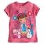 zDoc McStuffins and Friends Disney Tee for Girls ของแท้ นำเข้าจากอเมริกา (Size: 5/6) thumbnail 1